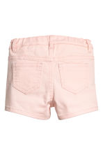 Twill shorts with appliqués - Light pink/Butterflies - Kids | H&M 3